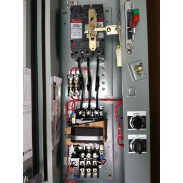 Combinations - Motor Starter and Contactor Panels
